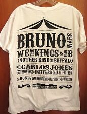 BRUNO MARS & WE THE KINGS med T shirt 2011 tee Kent State Flashfest OHIO
