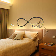 PVC Love Infinity Wall Decal Removable Sticker Symbol Art Decor Mural Quote
