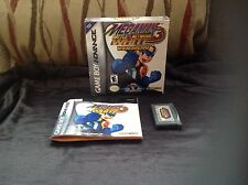 Megaman Battle Network 3 Blanco versión Nintendo GameBoy Advance GBA DS Capcom