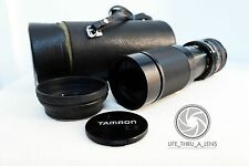 Canon EOS EF DSLR DIGITAL fit TAMRON 210mm 420mm ZOOM lens for 500D 550D 600D