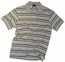 PAUL SMITH STRIPY COTTON POLO SHIRT / T-SHIRT / TOP BNWT SZ-M very rare