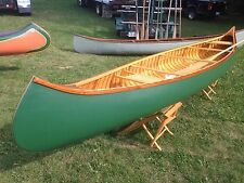 16' Canoe Burt Libby Camps Old Town Wood Canvas NEW!
