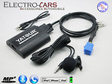 BLUETOOTH INTERFACE AUXILIAIRE MP3 AUTORADIO COMPATIBLE LANCIA LYBRA 1999 à 2006