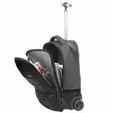 "Promate bizPak-TR High Volume Heavy Duty Trolley Bag for Laptops up to 15.6"" New"