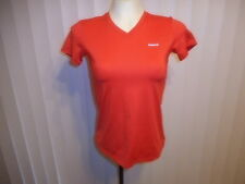 REEBOX Women Orange Play Dry Top        Size: Small