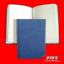 A6 HARDBACK LINED RULED NOTEBOOK MANUSCRIPT BOOK CASBOUND