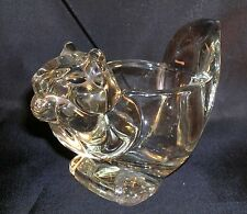 Vintage Avon Glass Squirrel Or Chipmunk Animal Candle Holder  Votive