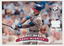 1996 Stadium Club Extreme Players SILVER Fred McGriff Insert Card - Sharp!