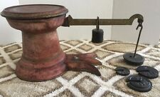 Antique Early 1900's Howe 5377 Fishtail General Store Balance Scale.