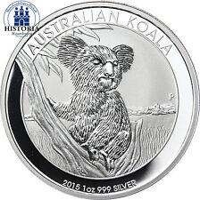 Australien 1 Dollar Silber 2015 Stgl Silbermünze Koala Bär 1 Unze Feinsilber