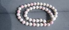 GENUINE CONCH SHELL LARGE BEADS NECKLACE