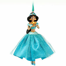 RARE 2012 Disney Store JASMINE Sketchbook Christmas Ornament Aladdin Princess