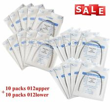 20X Dental Orthodontic Super Elastic Niti Arch Wire Round 012 Upper Lower Ovoid