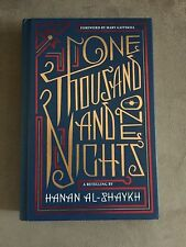 ONE THOUSAND AND ONE NIGHTS BY HANAN AL-SHAYKH 2011 FIRST EDITION HARDCOVER