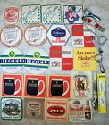 Lot of 20 beer coasters Draught Guinness O Briens  6 bottle openers Stieglbrau