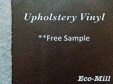 """Paloma Vinyl Brown Upholstery Fabric Faux leather Soft hand feel leather 54""""W"""