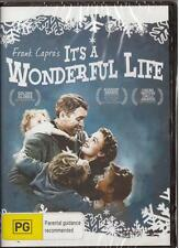 IT'S A WONDERFUL LIFE - FRANK CAPRA - NEW & SEALED REGION 4 DVD FREE LOCAL POST
