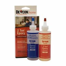 Devcon 2 TON EPOXY 30 Minute 8.5oz  Models Trains Planes Rocketry diy
