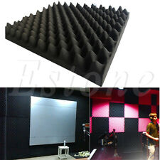 50x50x3cm Acoustic Soundproof Sound Thick Absorption Pyramid Studio Foam Board
