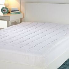 Concierge Collection Magic Loft Mattress Pad Flexwall® Stretch Skirt -King 2K14H