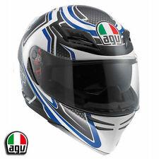 AGV Horizon Racer Blue Motorcycle Helmet Large