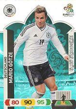 MARIO GOTZE # FAN'S FAVOURITE 1/36 DEUTSCHLAND CARD PANINI ADRENALYN EURO 2012