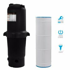 Easy Clear 200 sqft Inground Swimming Pool Cartridge Filter Hayward Compactible