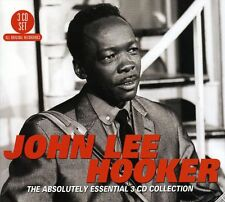 John Lee Hooker ABSOLUTELY ESSENTIAL COLLECTION Best Of 60 Track NEW SEALED 3 CD