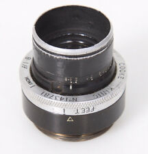 1 inch Cooke Kinic 25mm f1.8 Lens for c-mount, Taylor Hobson