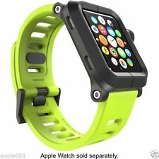 Genuine LUNATIK EPIK Case and Silicone Band for Apple Watch 42mm EPIK-002 Green