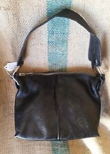 Furla Handbag Black Leather Bag Purse Shoulder Tote Satchel