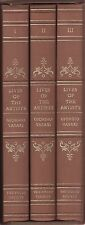 (Folio Society) Vasari: Lives of the artists (3 BDE. con 104 fig.) 1993
