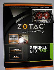 ZOTAC GeForce GTX 750 Ti OC 2GB 2x DVI, HDMI, DisplayPort (ZT-70602-10M)