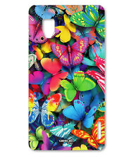 CUSTODIA COVER CASE FARFALLE COLORATE color PER LG OPTIMUS G E975