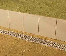City Classics HO Scale 601 Modular Concrete Retaining Walls Kit 2 Per Pack New!