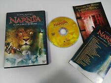 LAS CRONICAS DE NARNIA EL LEON LA BRUJA Y EL ARMARIO DVD DISNEY ESPAÑOL ENGLISH