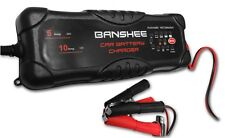 Golf Cart & Vehicle Battery Charger 2/5/10 AMP selections for 12V and 24V