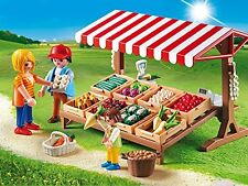 Playmobil 6120 Country Life Farmer's Market Made in Germany Role Play New 2016