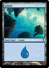 20x*Basic Land*Island*Zendikar*NM/SP*x20*#234a*Magic the Gathering MTG*FTG