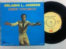 vinile 45 giri ORLANDO L. JOHNSON STARTIN' TOMORROW/ON THE SUNNY SIDE OF THE ST