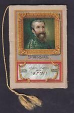 CALENDARIETTO SIRIO 1917 MICHELANGELO old pocket calendar
