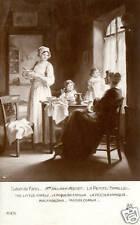 CPA salon de paris  Mlle VALLAYER MOUTET  la petite famille