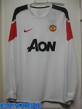 BNWT Manchester United 2010/11 Long-Sleeve Away Shirt XL