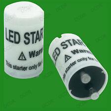 50x Starter Fuse; Replace Fluorescent Tube Light for LED T8 Lamp Lightbulb