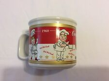 Vintage CAMPBELL'S SOUP Chef Decades 1950 To 1990 Mug 2001