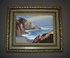 Linda S Northwest Coast Shore Seaside Oregon Impressionism Inpasto Oil Painting