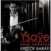 YSAYE: SONATAS FOR SOLO VIO NEW & SEALED