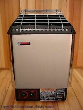 Amerec Sauna DesignerB 8KW Sauna Heater with rocks and controls mounted to unit