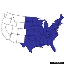 TOPO map card for Garmin Astro  320 Micro SD  FULL EASTERN SPECIAL  USA