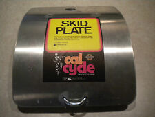 NOS Vintage Cal Cycle Skid Plate  Honda XR CR MT RC MR Competition  AHRMA